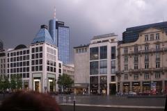 Goetheplatz nach einem Gewitter