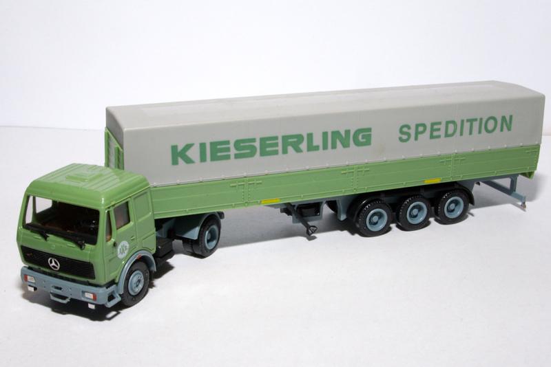 Mercedes LKW Auflieger Kieserling