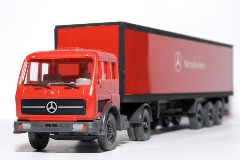 Mercedes LKW Auflieger Mercedes