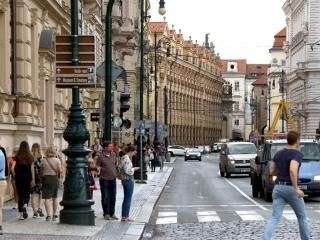 Straße Křížovnická