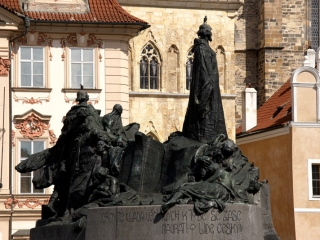 Jan Hus - Denkmal